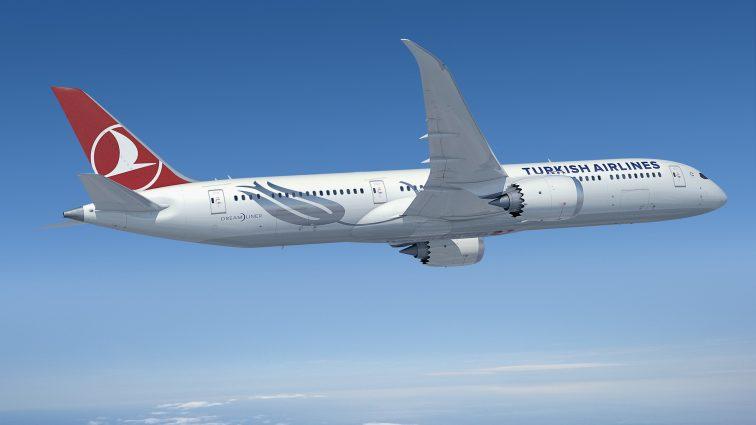 Turkish Airlines comandă 40 de Boeinguri 787-9 Dreamliner
