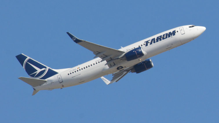 Primele rute TAROM care vor fi operate cu noile Boeinguri 737-800NG