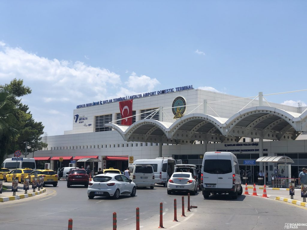 AYT Airport Terminal 1 domestic