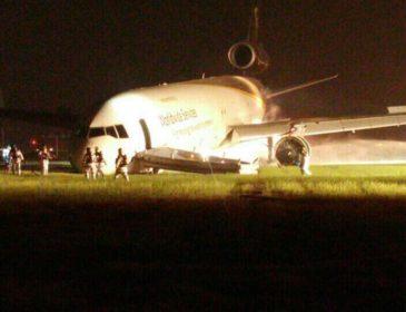 Decolare ratată a unei aeronave cargo ce aparține companiei UPS, pe Aeroportul Internațional Incheon (ICN) din Seoul