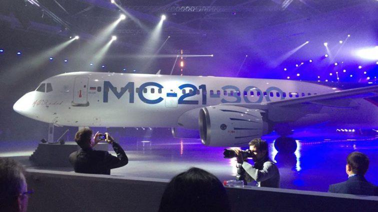 MC-21: Răspunsul Rusiei pentru variantele Airbus A320neo și Boeing 737 MAX (Foto & video)