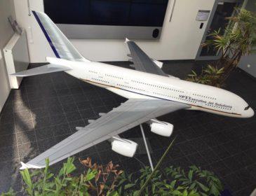 """Varianta de buzunar"" a modelului de lux Airbus A380 VIP"