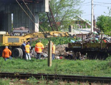 """Campanie de ecologizare marca CFR SA – """"O cale ferată curată!"""""""