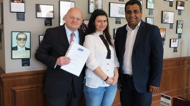 Parteneriat între LOT Polish Airlines și Luxury Exclusive Club România