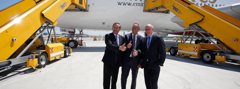 Emirates sărbătorește astăzi recepționarea modelului Airbus A380 cu numărul 80