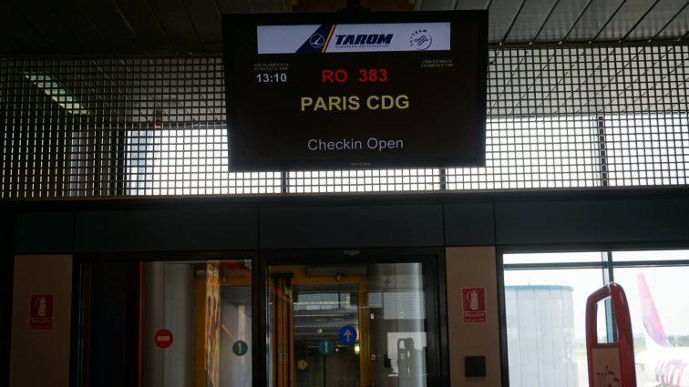 Trip report: zbor TAROM RO383: București – Paris cu Airbus A318