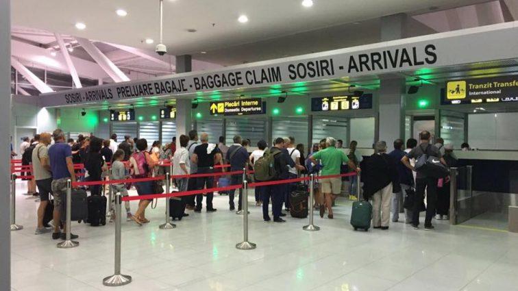 Nou flux de sosire a pasagerilor pe Aeroportul Henri Coandă