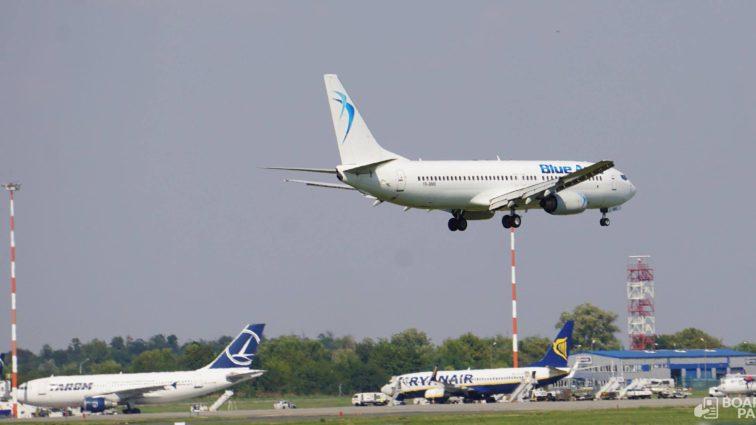 Blue Air anunță o nouă rută: Iași – Cluj Napoca