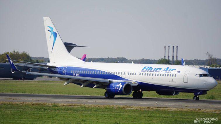 Noi rute Blue Air din București către Copenhaga și Bordeaux, iar din Iași către Berlin și Valencia