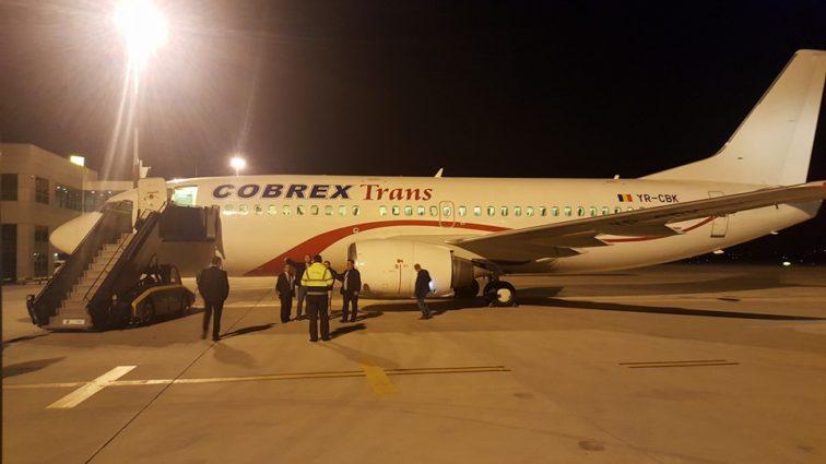 COBREX – o nouă companie aeriană din România