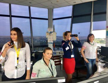 Controlorii de trafic aerian din Moldova, angajați ai MoldATSA, protestează astăzi