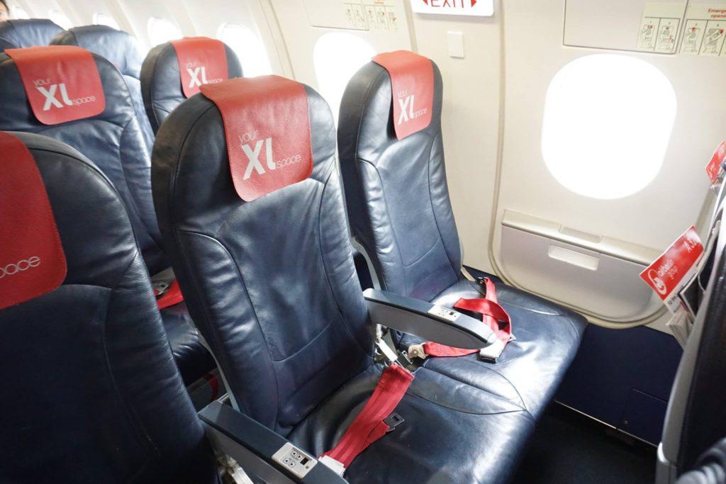 economy XL a320 airberlin