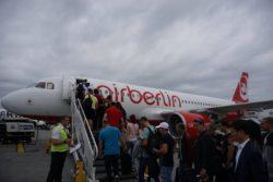 boarding a320 airberlin