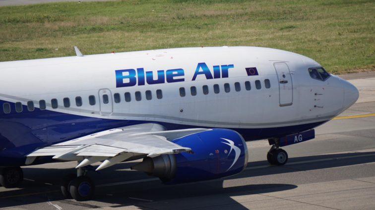 Blue Air suspendă din 17 Februarie zborurile Iași – Timișoara (Actualizat)