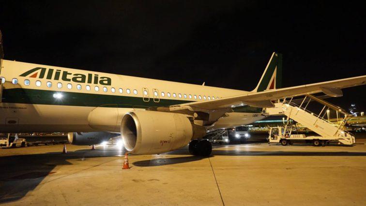 Trip report: zbor Alitalia AZ495: București – Roma cu Airbus A320 (Business Class)