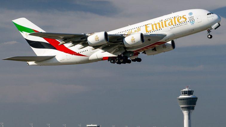 Emirates: Ruta Dubai – Glasgow ar putea fi operată cu o aeronavă Airbus A380