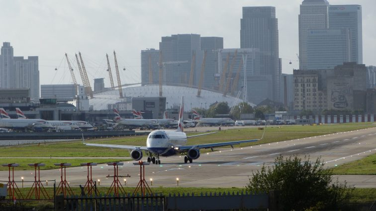 Aeroportul London City a primit aprobările și fondurile pentru a fi modernizat