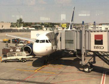 Trip report: zbor TAROM RO342: Viena – București cu Airbus A318