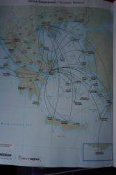 Destinații Aegean în Grecia (click pentru zoom)