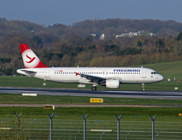 FlyOne a închiriat un Airbus A320 de la Freebird Airlines (Turcia)