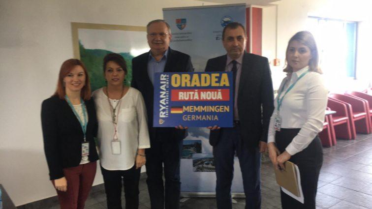 RUTĂ NOUĂ: Oradea – Memmingen cu Ryanair din 31 Octombrie