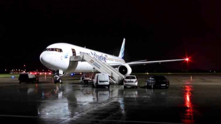 Boeingul 767 cu care LOT va zbura, temporar, din 30 Aprilie către Newark a ajuns la Varșovia