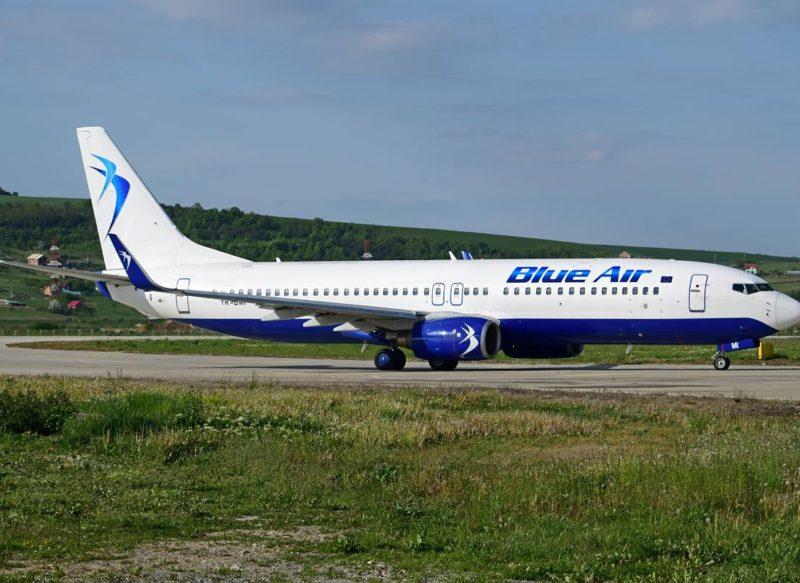 Blue Air va zbura din Cluj Napoca către Bruxelles Zaventem și Paris Charles de Gaulle și anulează Nisa