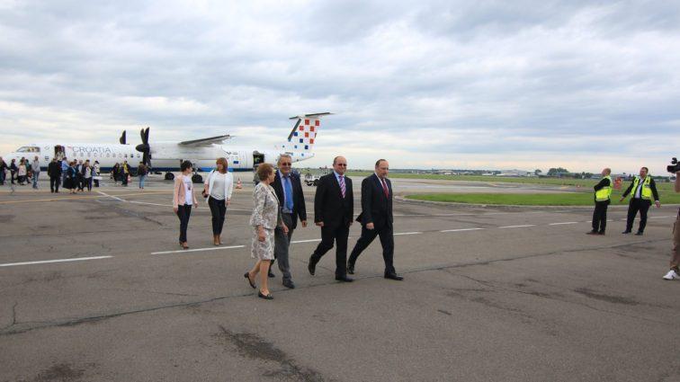 Croatia Airlines are în plan operarea zborurilor pe ruta București – Zagreb pe durata întregului an