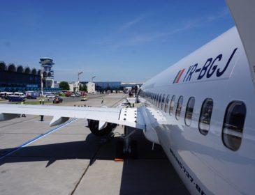 Primul din cele două Boeinguri 737-800NG TAROM va opera astăzi primul zbor comercial
