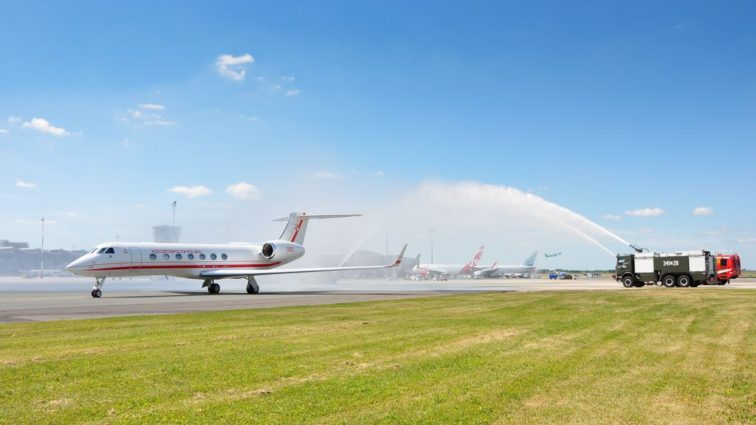 Polonia a recepționat miercuri primul business jet Gulfstream G550