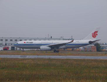 Miercuri, un Airbus A330 Air China va vizita Bucureștiul și va pleca sâmbătă către Constanța