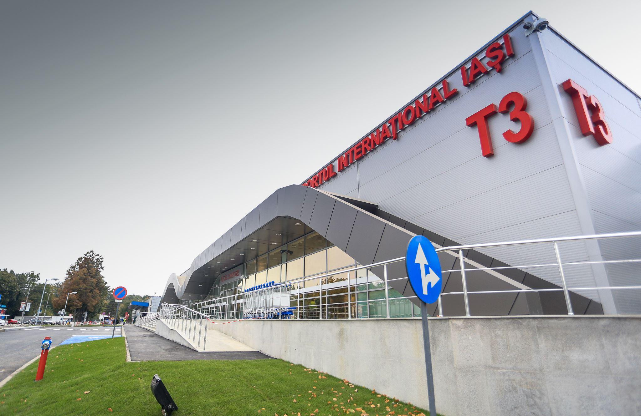 Aeroportul Iași a inaugurat Terminalul 3 și noi rute internaționale