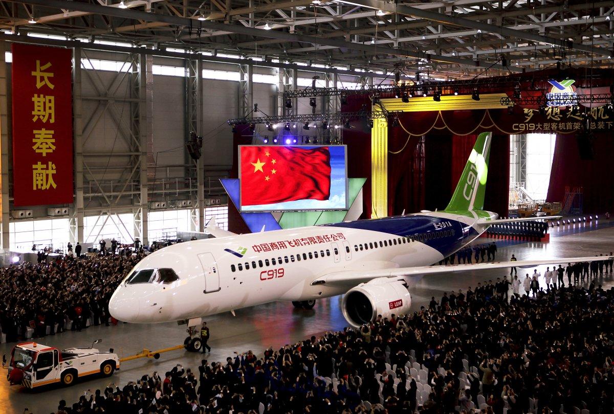 COMAC C919 – un adversar chinez pentru Airbus și Boeing