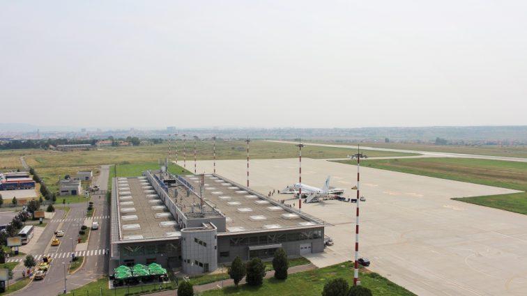 Aeroportul Internațional Sibiu raportează creșteri privind traficul aerian