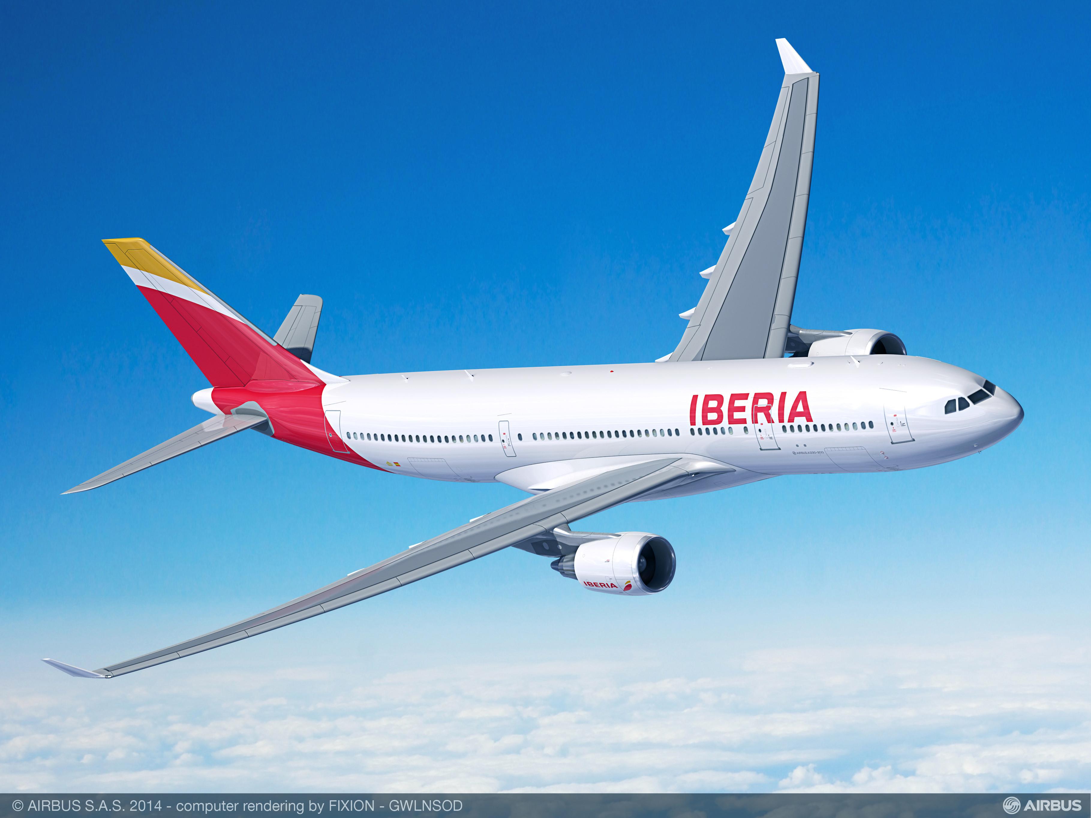 Iberia va opera cu A330-200