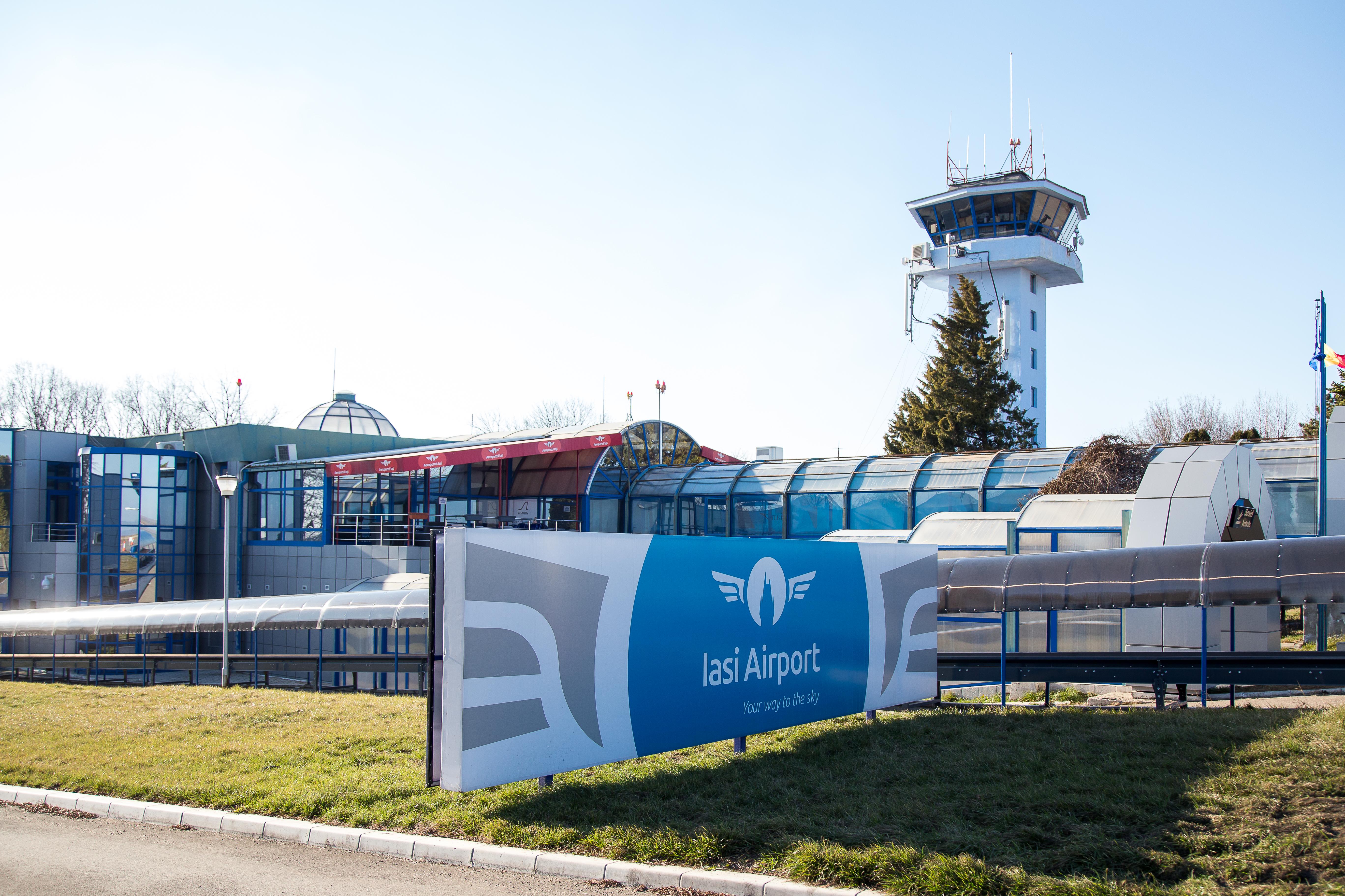 Directorul Aeroportul Internațional Iași anunță operarea de curse către Timișoara și Cluj