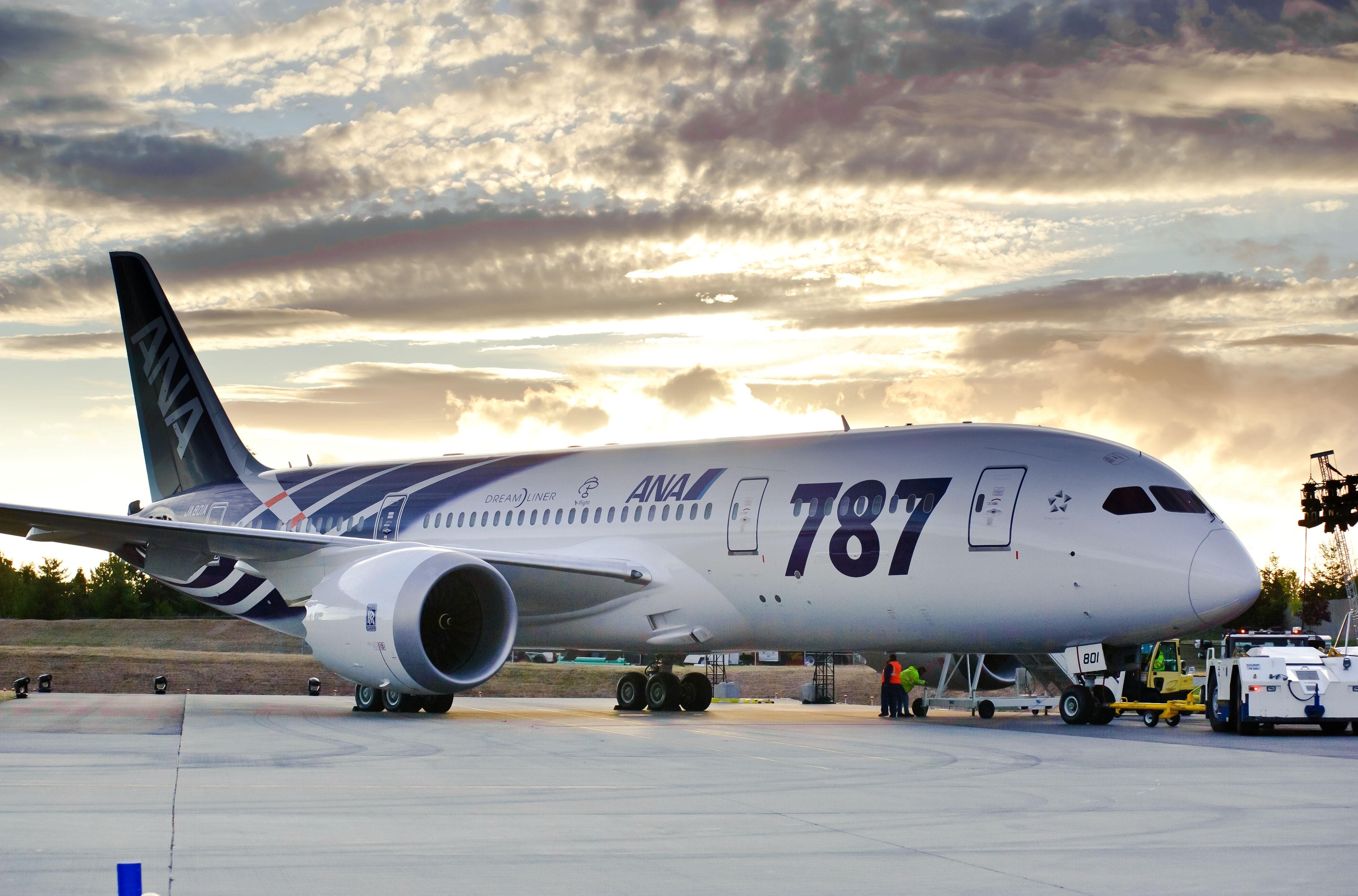 Comapania All Nippon Airways a înregistrat un record de 100.000 de zboruri comerciale cu Boeing 787 Dreamliner
