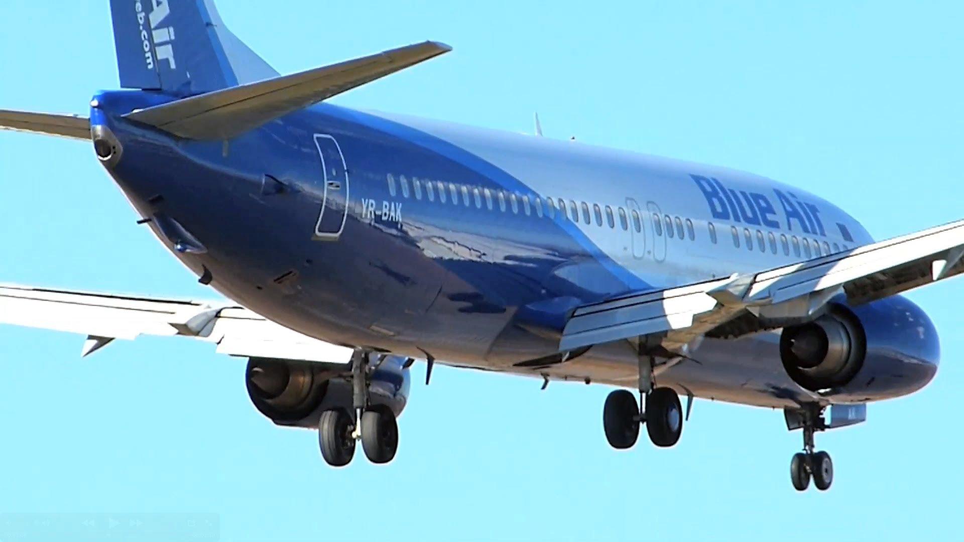 Blue Air a introdus zboruri directe între București și Lisabona