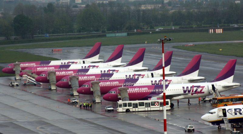 Wizz Air operează zboruri din Bucureşti către Cluj şi Budapesta