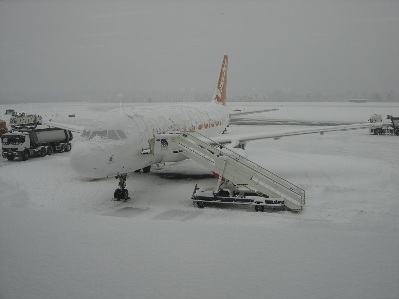 8,323 de zboruri anulate datorită furtunilor de zăpadă, în SUA