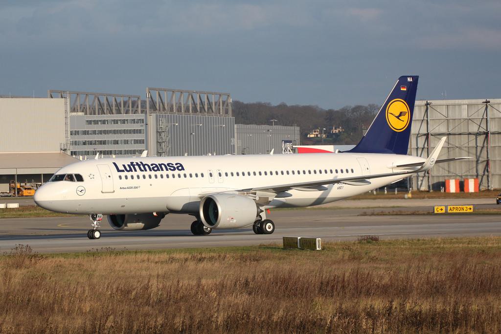 Lufthansa a recepționat a doua aeronavă de tip Airbus A320neo