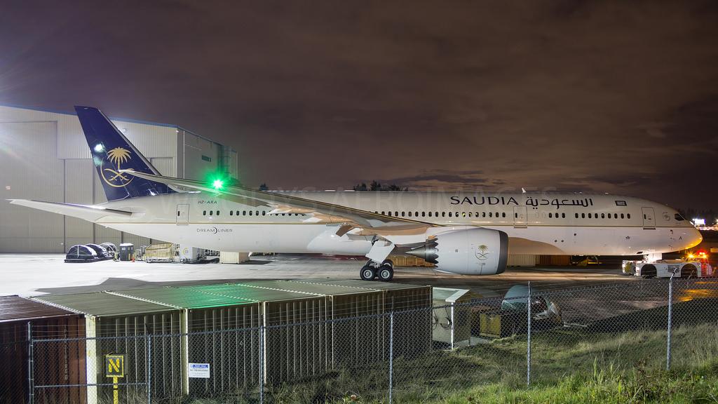 Compania Saudia a primit primele două Boeing 787 şi un 777-300ER