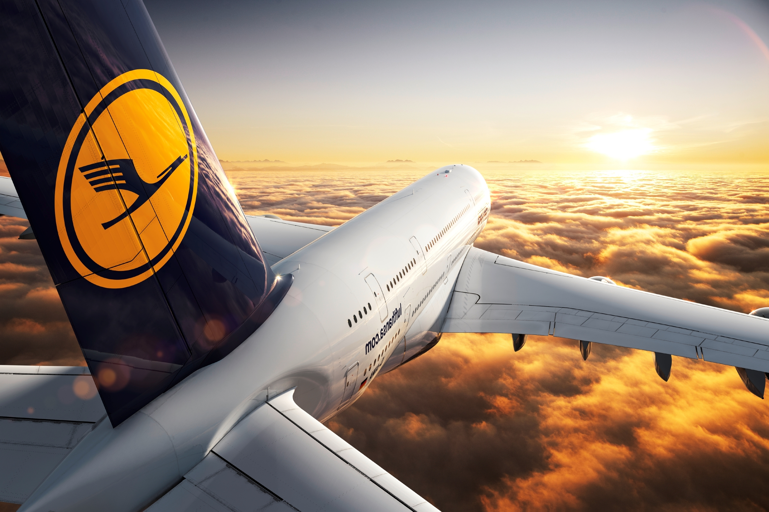 Un Airbus A380 Lufthansa a zburat 7 ore din Frankfurt către… Frankfurt!
