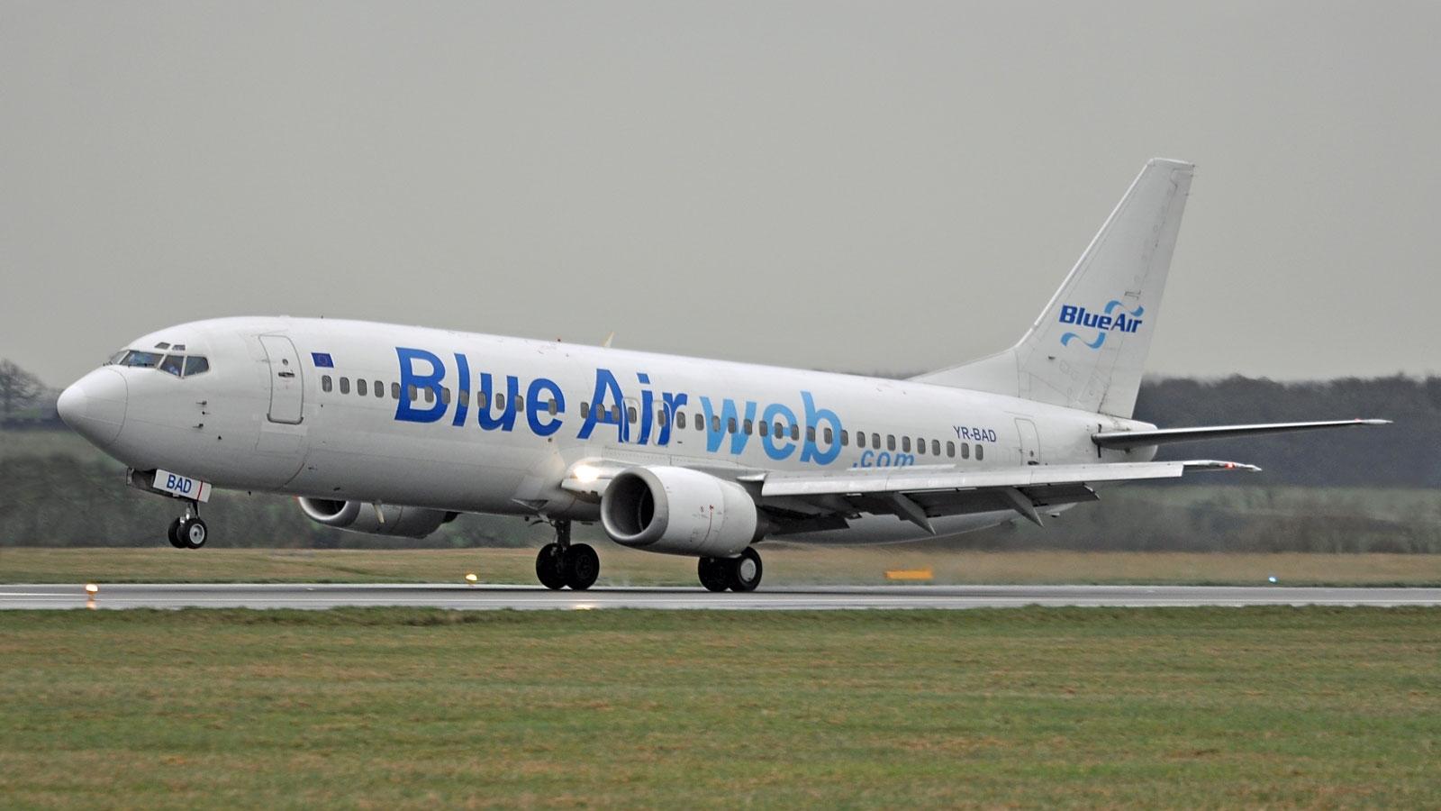 Compania Blue Air deschide trei rute noi din Cluj-Napoca