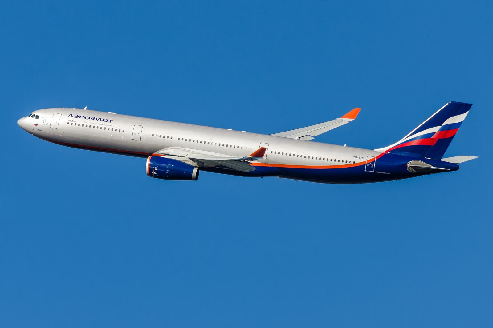Airbus A330-300 VQ-BPK Aeroflot / Foto: Olivier Mouhot