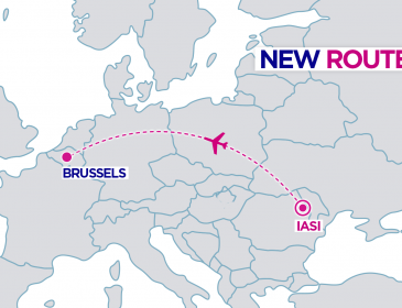 Rută nouă: Iași – Bruxelles (Charleroi) cu Wizzair din 8 Iulie
