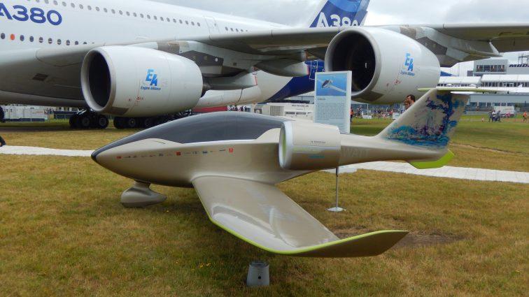 Airbus ar putea construi un hibrid cu 19 locuri pentru piața aviației generale