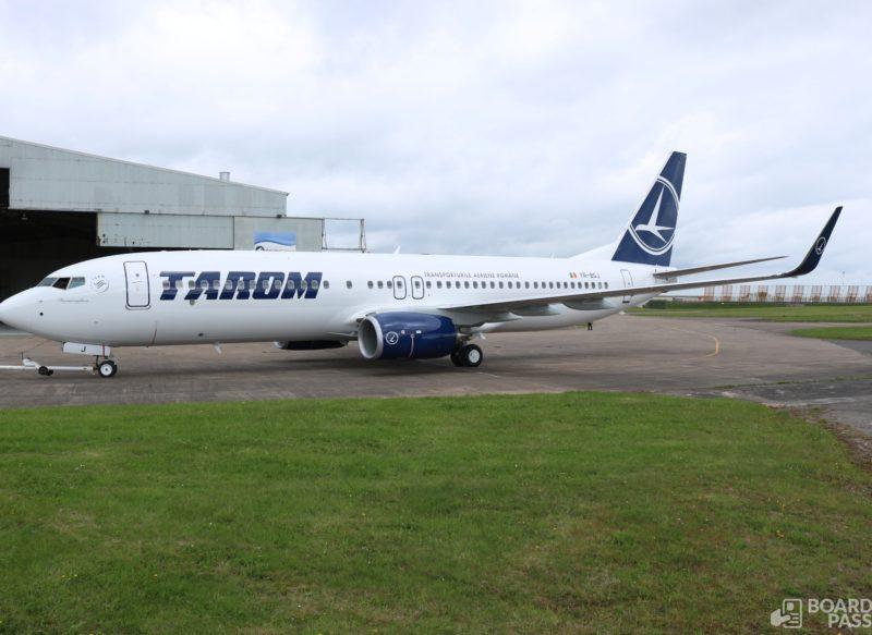 Primele fotografii cu primul Boeing 737-800NG TAROM
