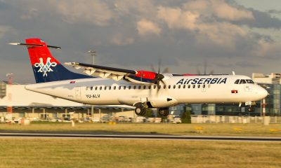 ATR 72-500 Air Serbia JU YU-ALV / Foto: Donal Morrissey
