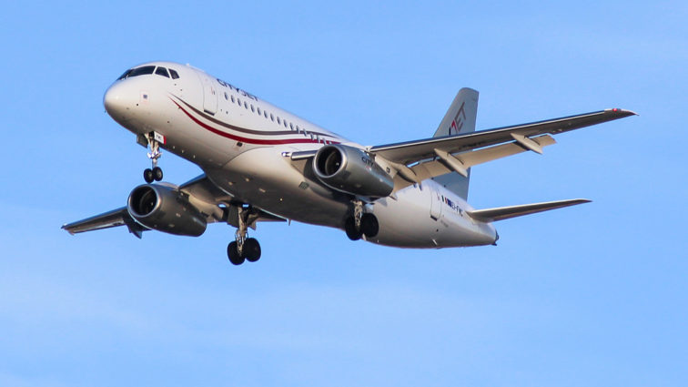 Brussels Airlines închiriază trei aeronave Sukhoi Superjet 100-95 de la CityJet